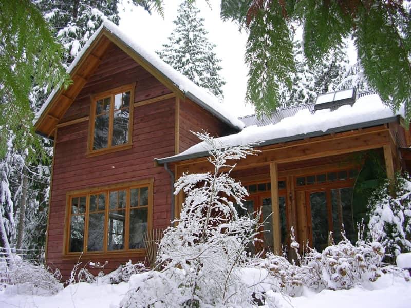 Housesitting assignment in Gabriola, British Columbia, Canada