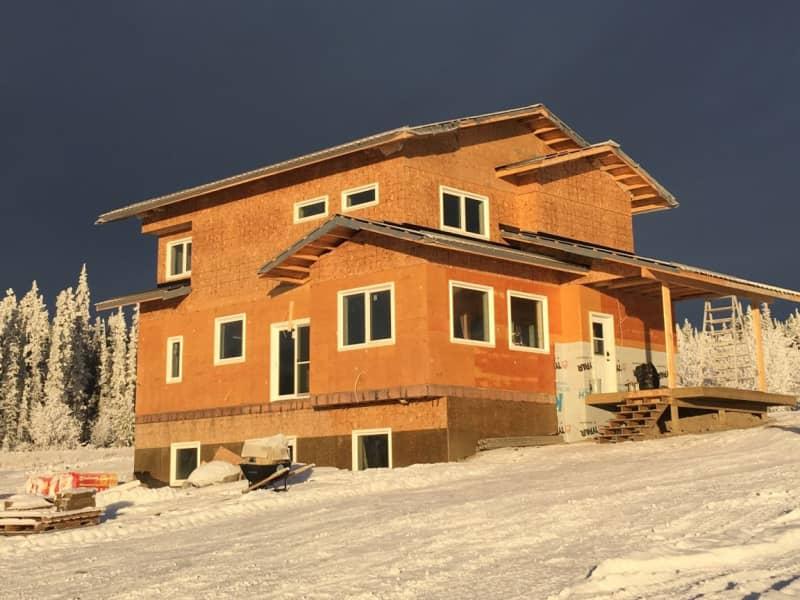 Housesitting assignment in Mount Lorne, Yukon, Canada