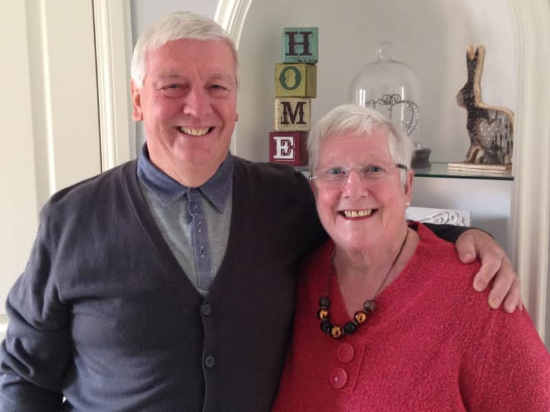 Dennis & Christine from Billericay, United Kingdom