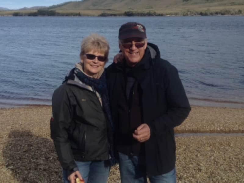 Wendy & John from Adelaide, South Australia, Australia