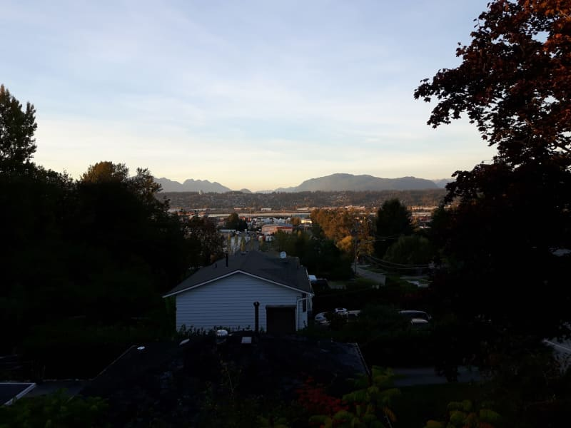 Housesitting assignment in Surrey, British Columbia, Canada