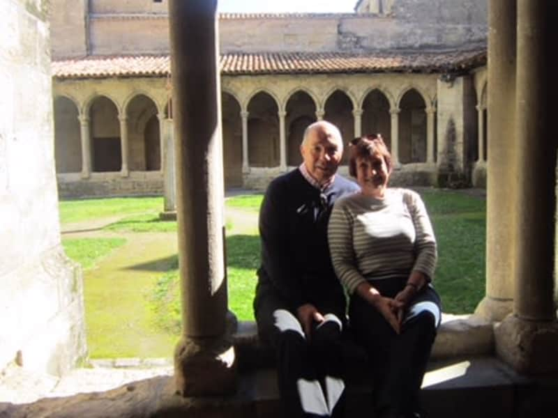 Gillian & Tim from Chasseneuil-sur-Bonnieure, France