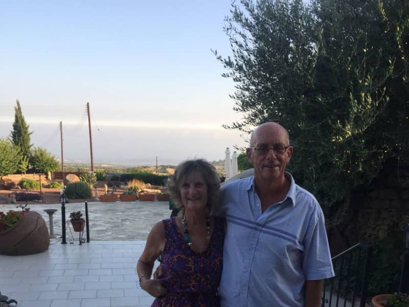 Jeffery & Linda from Páchna, Cyprus