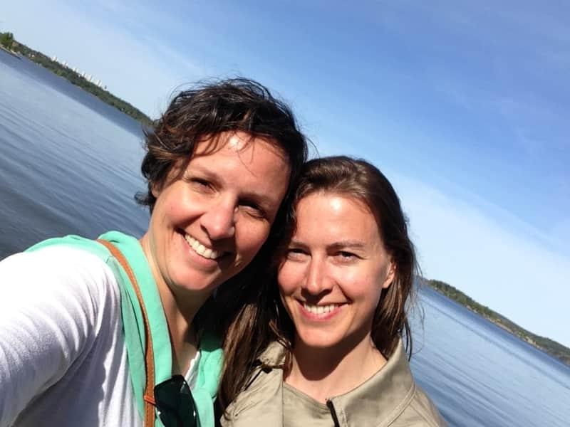 Alice & Anja from Hamburg, Germany