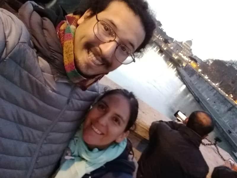 Maria de los angeles & Santiago from La Plata, Argentina