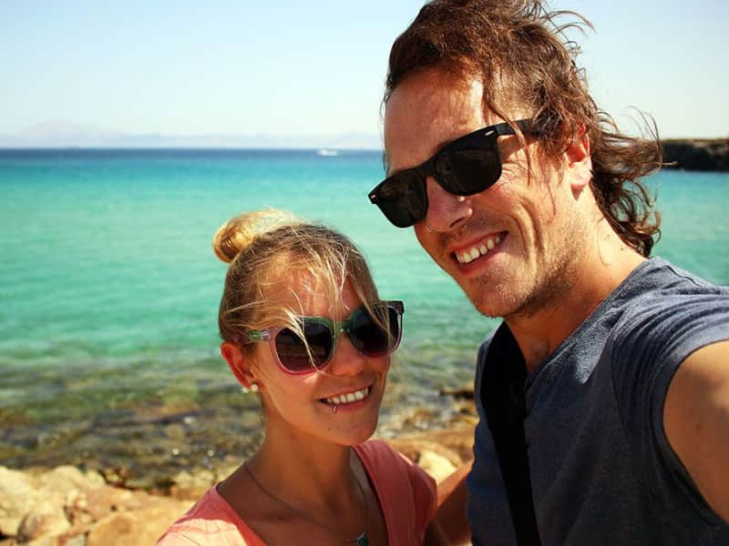 Brian & Noelle from Cork, Ireland