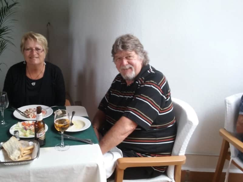 Shirley & Robert from Saint-Yrieix-la-Perche, France