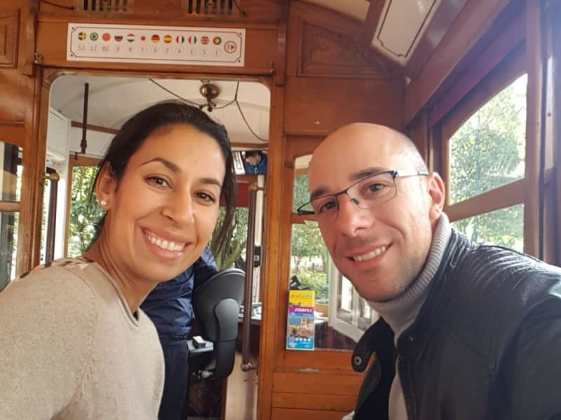 Khaldia & Sebastien from Nyon, Switzerland
