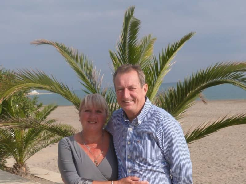 Linda & Michael from Highworth, United Kingdom