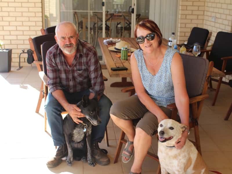 Gayl & James from Murray Bridge, South Australia, Australia