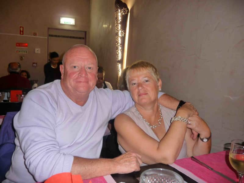 Peter & Heather from Laranjeiro, Portugal