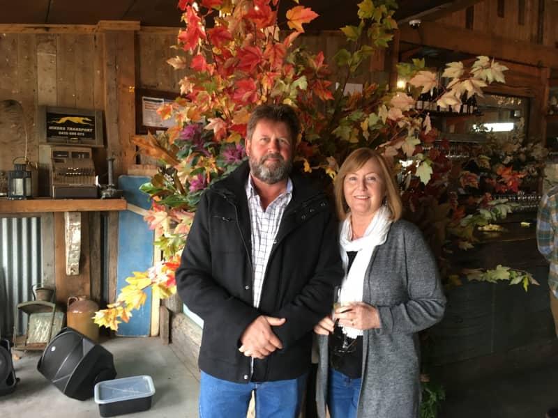 Ian & Susan from Portarlington, Victoria, Australia