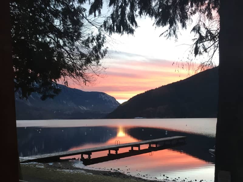 Housesitting assignment in Cultus Lake, British Columbia, Canada