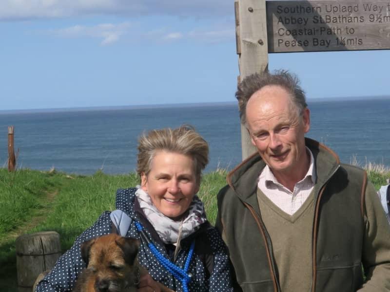 Gilly & John from Gullane, United Kingdom