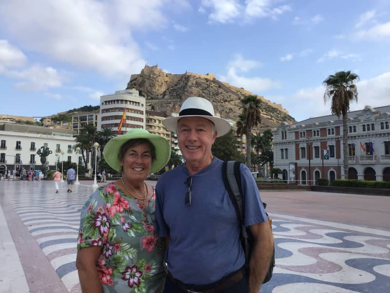 Keith & Christine from Bath, United Kingdom