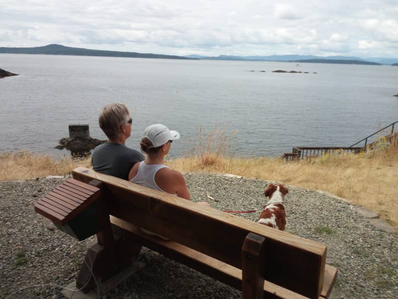 Housesitting assignment in Pender Island, British Columbia, Canada