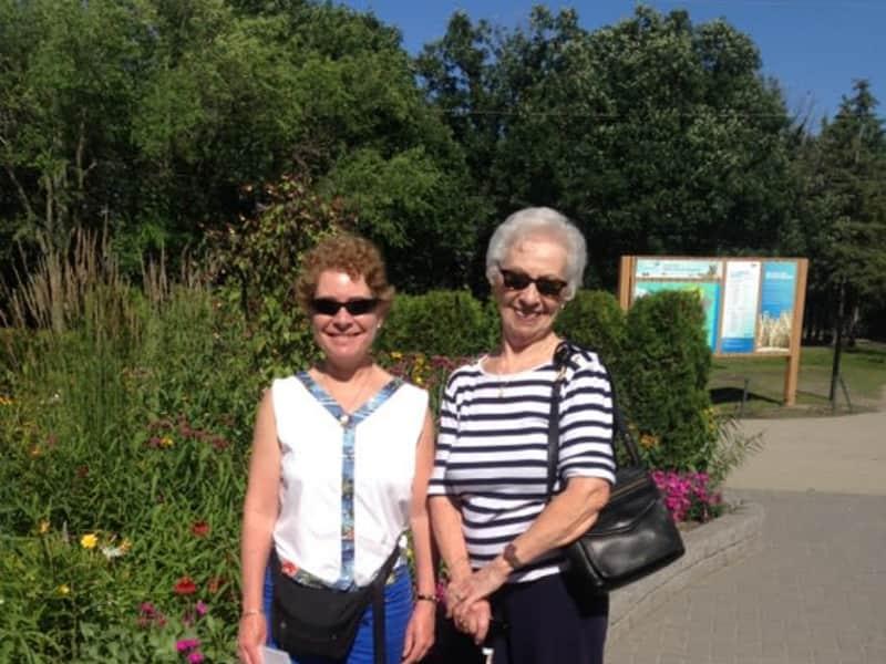 Elaine & Monique (mom) from Winnipeg, Manitoba, Canada