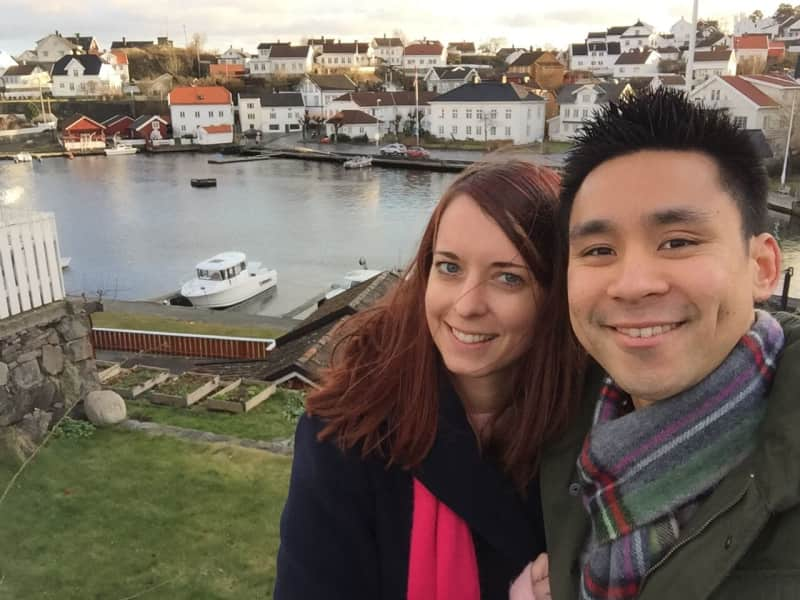 Charlotte & Justin from Oslo, Norway