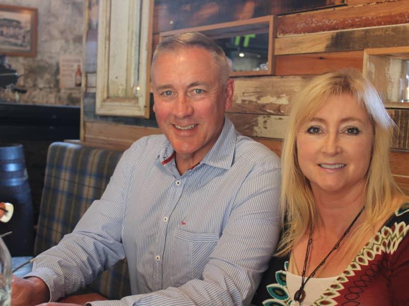 Lynn & Paul from Timaru, New Zealand
