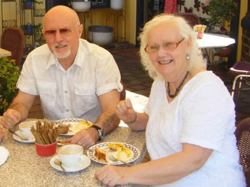 Tony & Lyn from Brisbane, Queensland, Australia