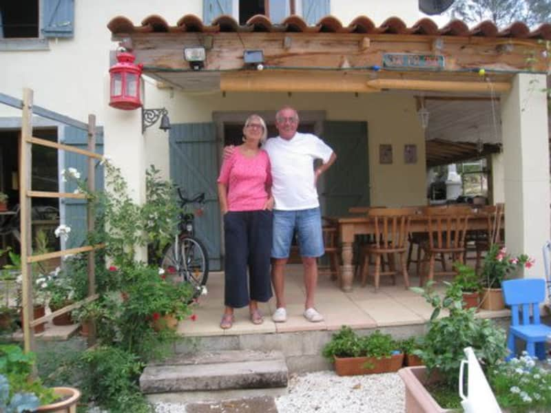 Jane & Kenneth from Cotignac, France