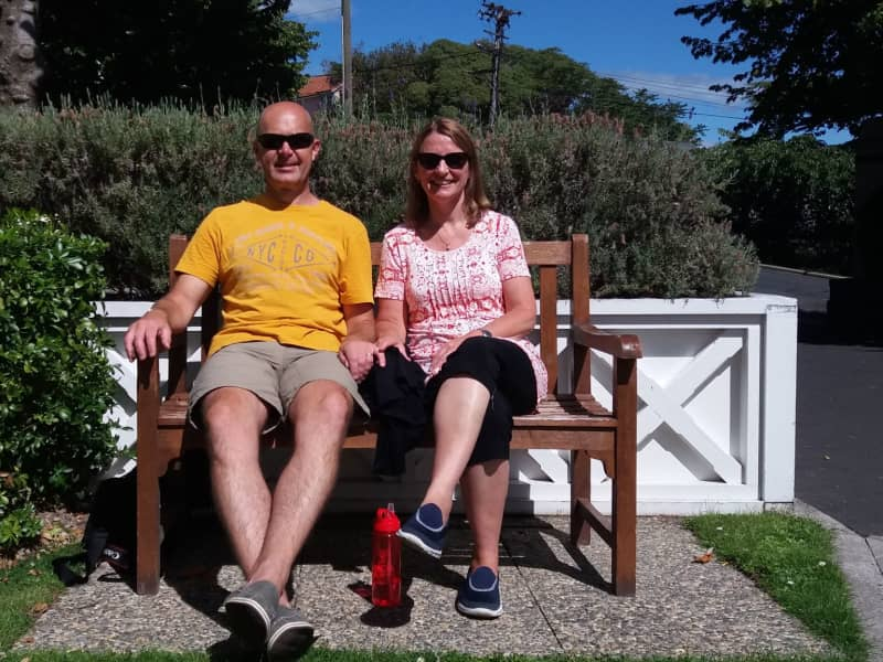 Caroline & Colin from Wanganui, New Zealand