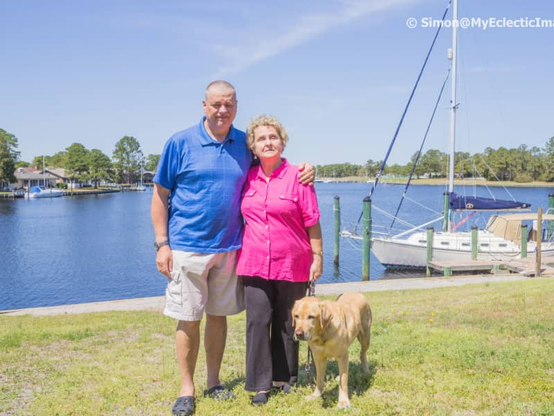 Simon & Penny from New Bern, North Carolina, United States