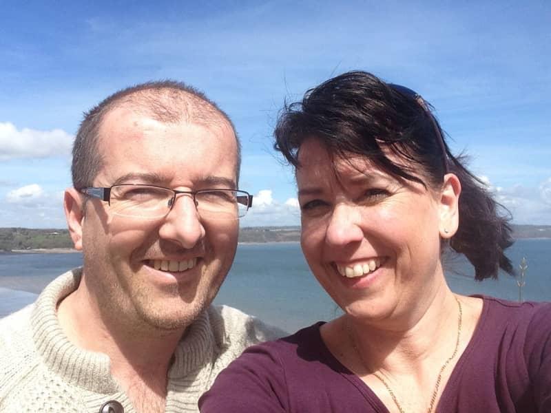 Rebecca & Rob from Carmarthen, United Kingdom