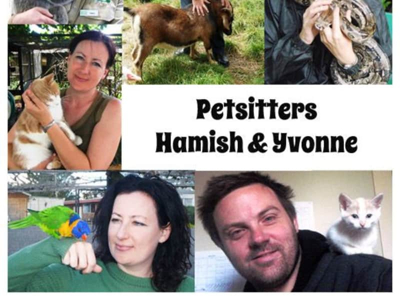 Yvonne & Hamish from Cambridge, United Kingdom