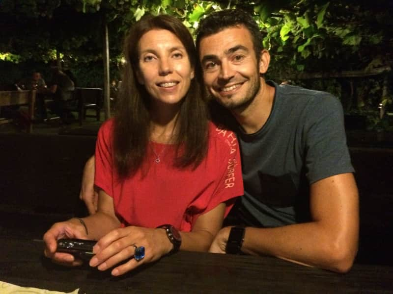 Joanne & Egon from Lana, Italy