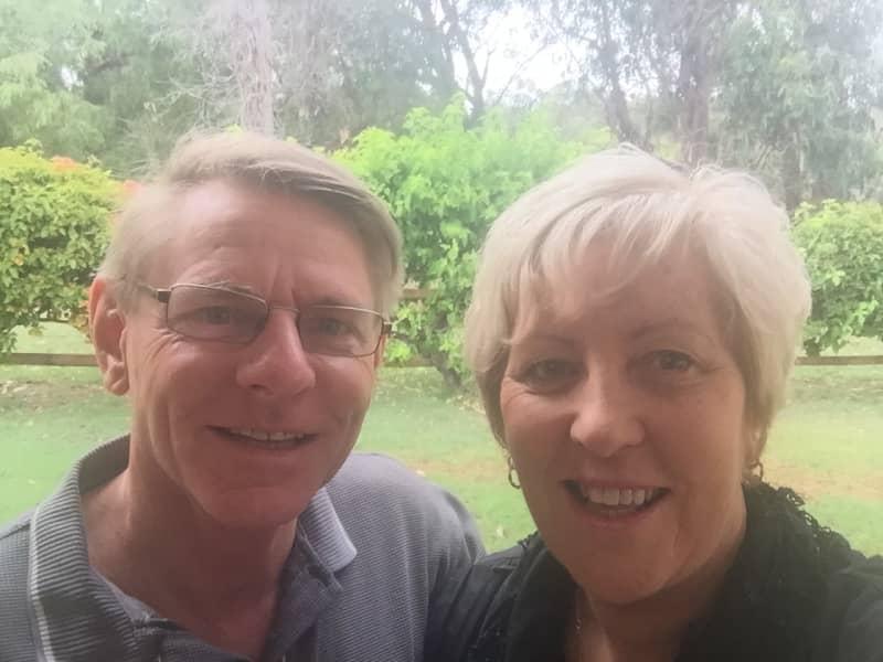 Cheryl & andy from Australind, Western Australia, Australia