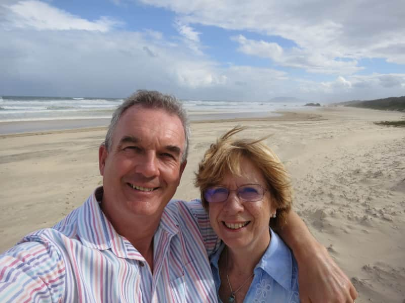 Paul & Alison from Goudargues, France