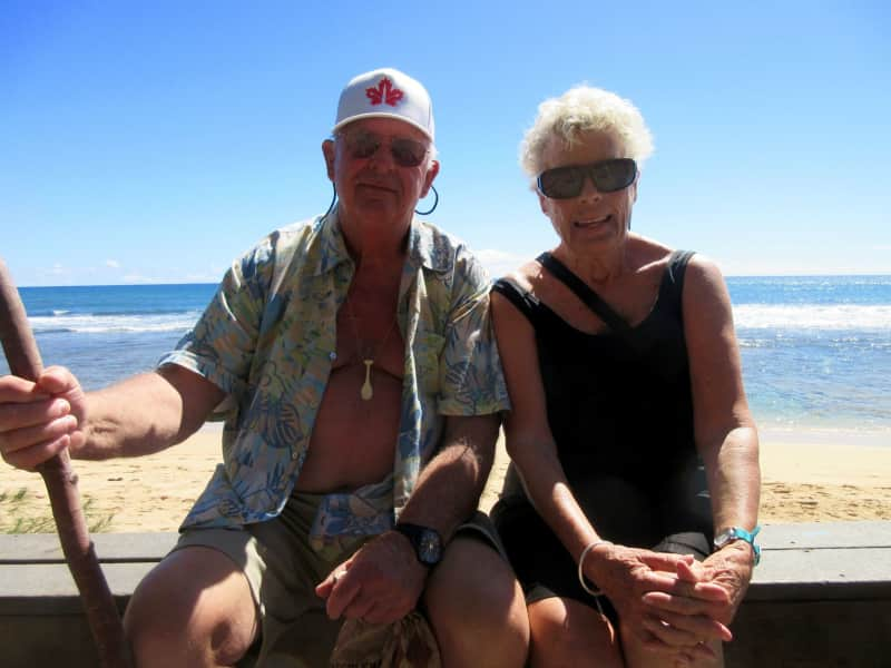 John & Beverly from Comox, British Columbia, Canada