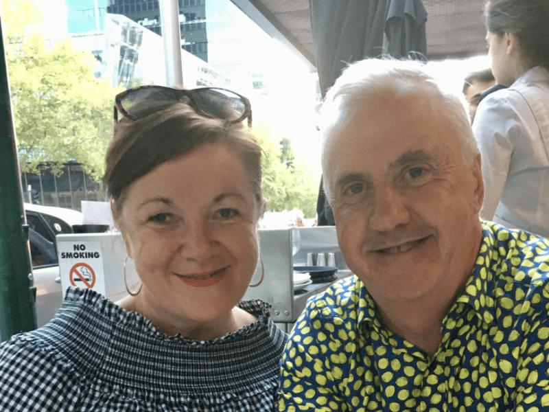 Sandy & Peter from Middleton, Tasmania, Australia