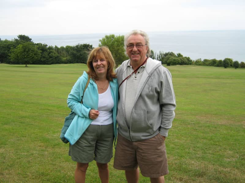 Roy & Christine from Belper, United Kingdom