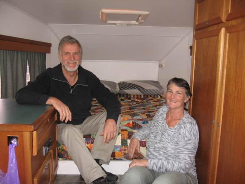 Christine & Terry from Tyalgum, New South Wales, Australia