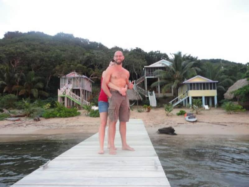 Housesitting assignment in Mangrove Bight, Honduras