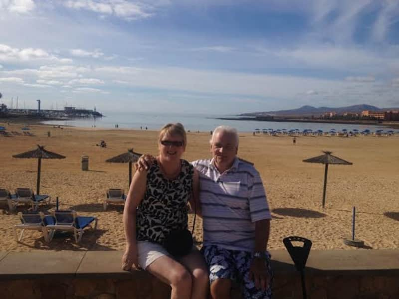 Shirley & Peter from Stockport, United Kingdom
