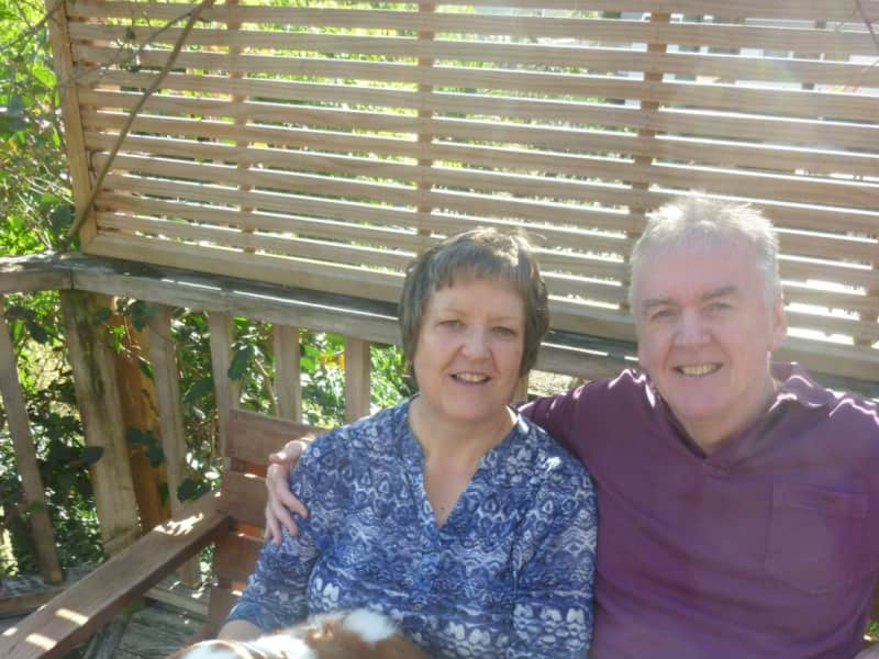 Penny & David from Hadleigh, United Kingdom