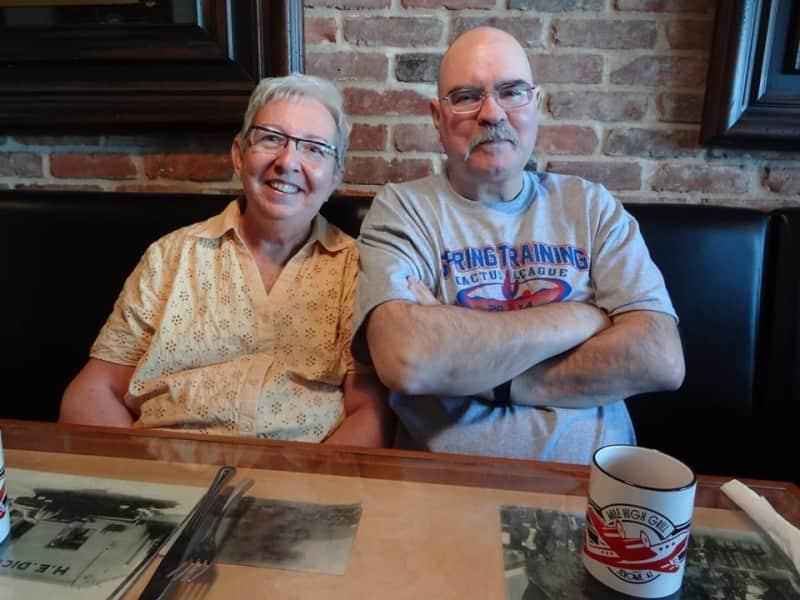 Terence   &   geraldine & Geraldine from Winnipeg, Manitoba, Canada