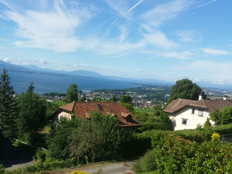Housesitting assignment in Rolle, Switzerland