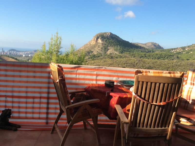Housesitting assignment in la Nucia, Spain