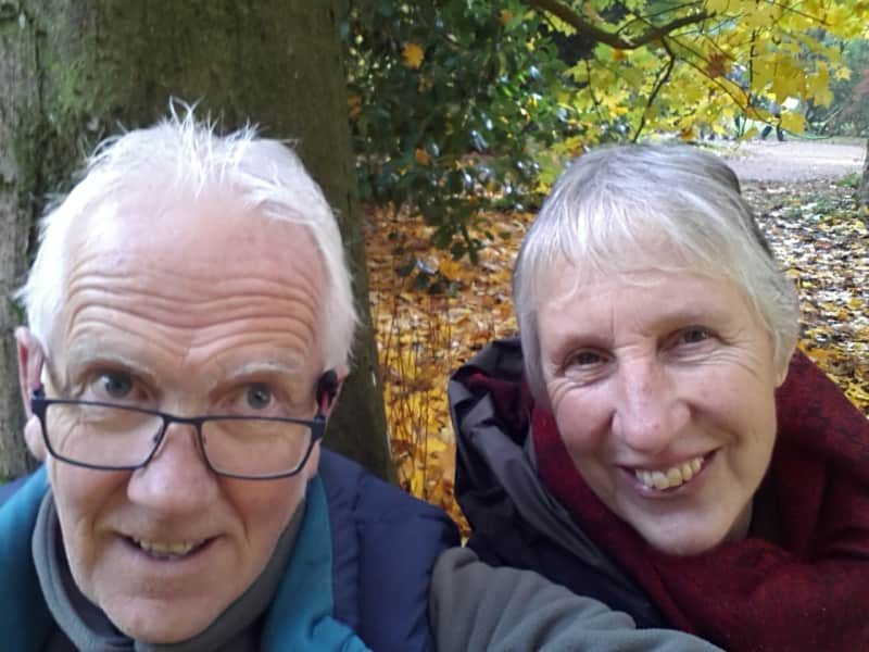 Les & Susie from Swansea, United Kingdom