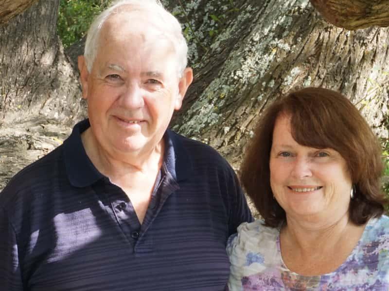 Edgar & June from Christchurch, New Zealand