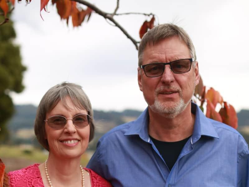 Susan & Arie from Hobart, Tasmania, Australia