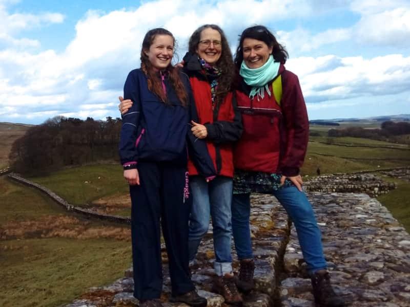 Anja & Gail from Enniskillen, United Kingdom