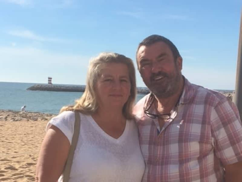 Jacqueline & Ian from Mosqueira, Portugal