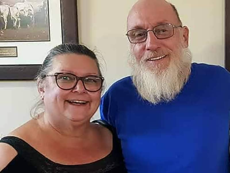 Glenda & Andrew from Eungella, Queensland, Australia