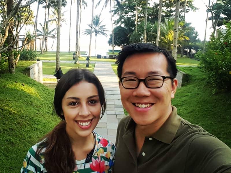 Sara maria & Jonathan from Seoul, South Korea
