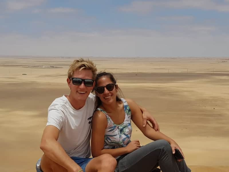 Shawn & Brenda from Windhoek, Namibia